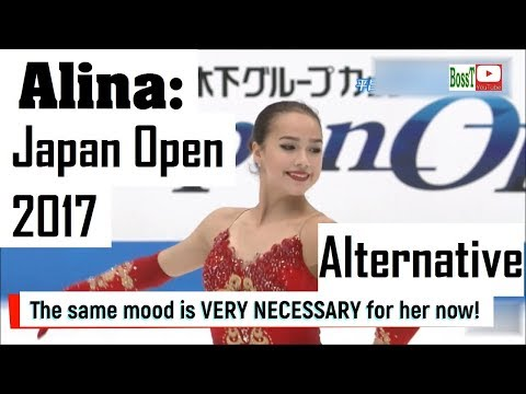 Alina ZAGITOVA - FP, Japan Open 2017 (Alternative) [FHD, 60 fps]