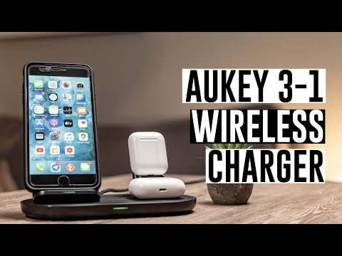 Aukey LC-A3 3 in 1 Aircore Charging Station (10W)