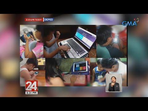 [GMA]  24 Oras: DepEd Learning Management System, magbibigay-access sa mga guro para sa virtual class