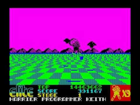 Space Harrier ZX Spectrum