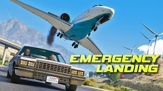 """Emergency Landing""   GTA 5 Dramatic Short Film"