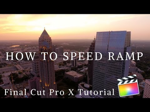 How To Speed Ramp | Final Cut Pro X Tutorial