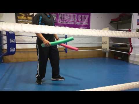 entrenamiento boxeo niños palos 24.02.2016