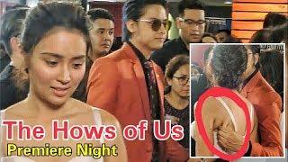 Kurot ni Daniel kay Kathryn NAKUNAN | The Hows of Us Premiere Night FULL VIDEO