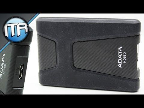 ADATA HD650 - Stoßfeste USB3.0 Festplatte [HD] - Deutsch/German