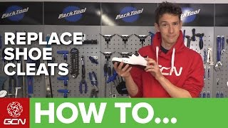 How To Fit & Replace Clipless Pedal Cleats | Maintenance Monday