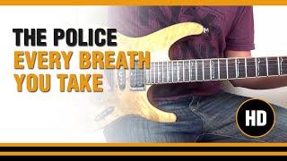 Como tocar Every Breath you Take de The Police en Guitarra electrica  CLASE TUTORIAL