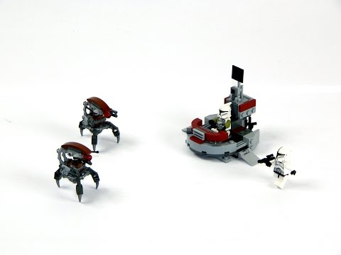 Vidéo LEGO Star Wars 75000 : Clone Troopers vs. Droidekas