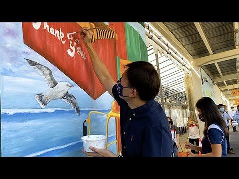 Mural Painting Event at PSA