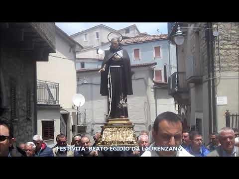 Preview video Video festività Beato Egidio da Laurenzana 2019 Laurenzana 2 giugno 2019