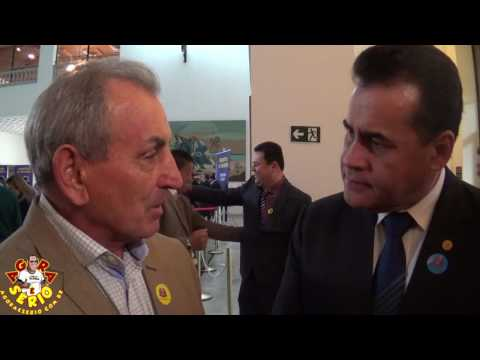 Prefeito Ayres Scorsatto assina convênio para Duas ambulância no Palácio do Governo Junto com o Deputado Estadual Jorge Wilson - Xerife do Consumidor