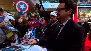 Avengers Assemble - European Premiere