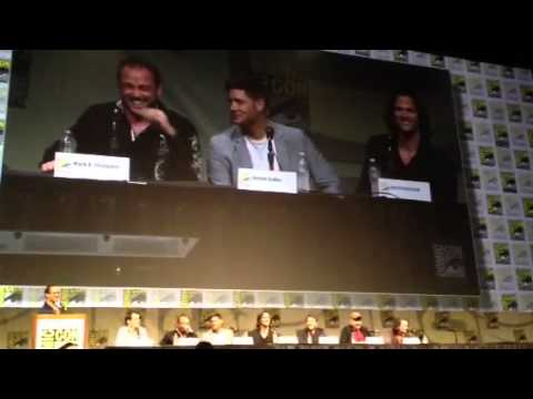 Supernatural - Season 8 - Comic-Con 2012 - Short Panel Video