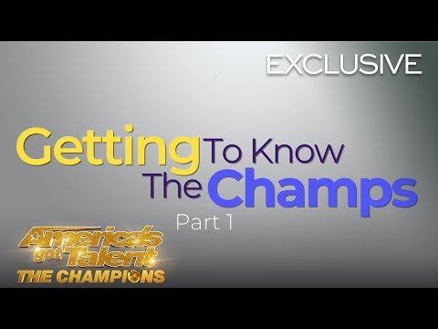 Getting To Know The AGT Champions! Part 1 - America's Got Talent: The Champions (видео)