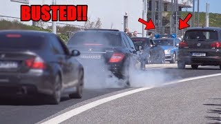 NÜRBURGRING CARFREITAG 2019 - Police,Funny-Moments,Burnouts,Drifts + Revs Teil 1/2