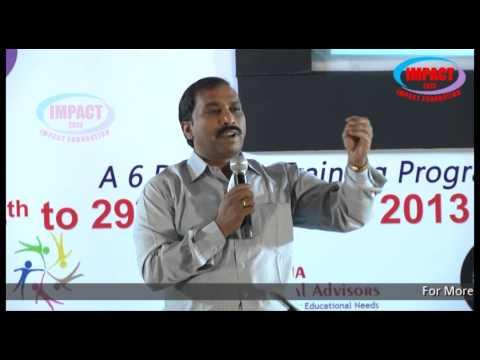 Life Skills|Madhava Reddy|TELUGU IMPACT Hyd Dec 2013