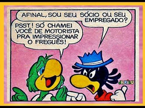 Zé Carioca   O taxi do Zé - quadrinhos Disney