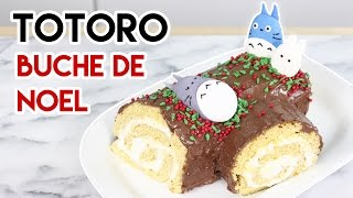 How to Make a Totoro Buche de Noel!
