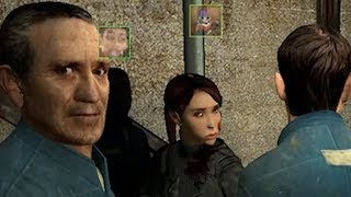 When you're playing Half Life 2 but your 10 friends want to play too