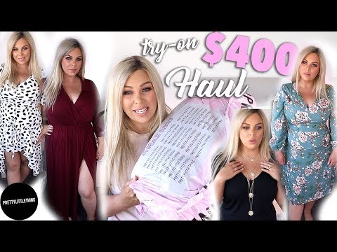 $400 PRETTY LITTLE THING TRY ON CLOTHING HAUL!