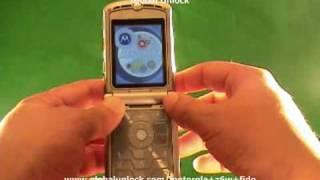 Unlock Fido Motorola Z6w phone - globalunlock.com