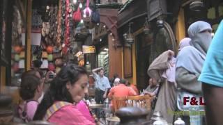 preview picture of video 'Egitto '08: Khan Al Khalili, il più grande bazar d'Egitto (F&L Travel Videos)'