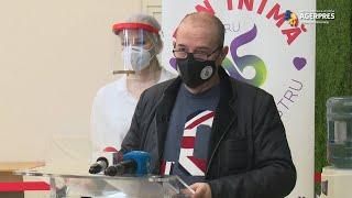 Cristian Popescu Piedone: La Centrul 'Sf. Andrei' putem vaccina împotriva COVID-19 aproximativ 240 de persoane pe zi