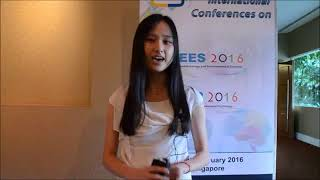 Ms. Lijun Zhan at CBP Conference 2016 by GSTF