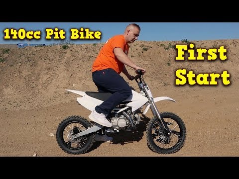 Drizzle 140cc Pit Bike - First Start Instructions Video