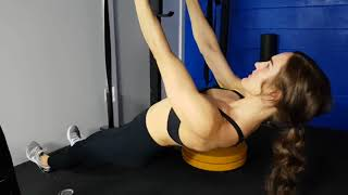 Kamloops Chiropractor | Movement Demo | Horizontal Ring Scapular Pull-ups