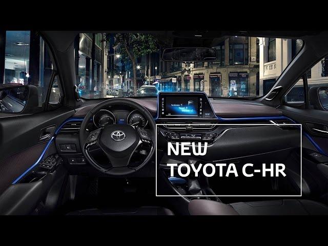 New Toyota C-HR - Interior Details