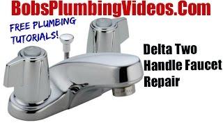 Delta Faucet - Cartridge Faucet Repair