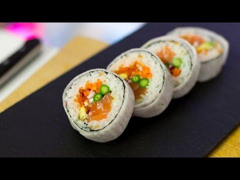 Futomaki Sushi Roll Recipe – How to Make Sushi