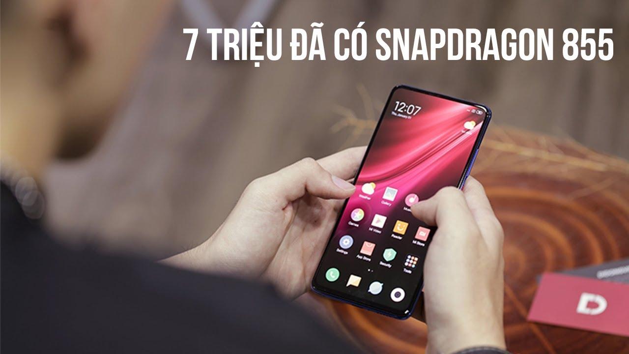 7 triệu đã có Snapdragon 855 với Redmi K20 Pro
