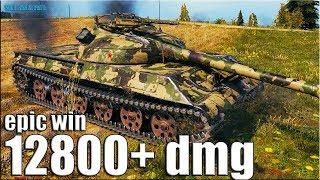 Тащунский бой 13К УРОНА 🌟 World of Tanks Объект 430У