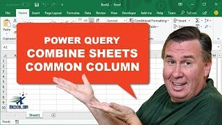 Learn Excel - Combine Workbooks With Common Column - Podcast 2216