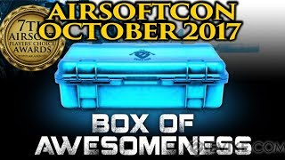 Airsoft Evike Box of Awesomeness 2017 Unboxing (Airsoftcon Pre-celebration Edition)