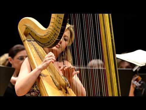 Jana Boušková plays Harp Concerto Op. 25 by Alberto Ginastera I