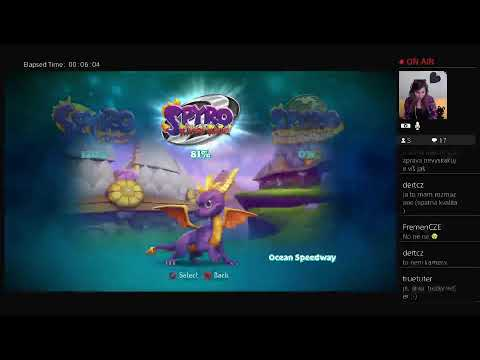 Spyro the Dragon 2 CZ Stream