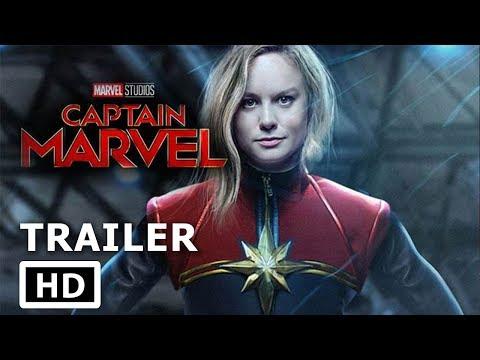 Marvel's Captain Marvel - (2019) BRIE LARSON Movie Trailer (Fan Made)