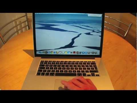 "Macbook Pro 15"" Retina review (mid 2012)"