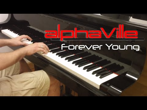 """Alphaville - """"Forever Young"""" / Evgeny Alexeev, piano cover"""