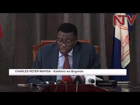 OKULUMBA OLUBIRI:  Buganda ejjukidde, Mayiga attukizza federo