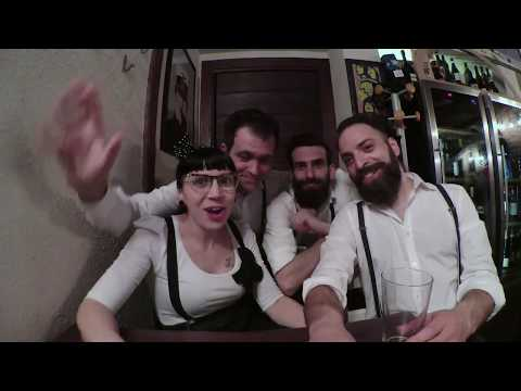Surfin'Claire and The Whisky Rockers Quartetto vintage anni '50. Lecco musiqua.it