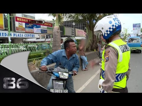 86 Penertiban Becak Motor di Medan - Ipda Nurhayati