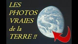 TERRE PLATE - Compilation de vraies photos de la Terre