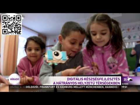 Robotokkal fejlesztik a gyerekek digitális készségeit