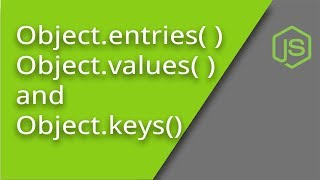 Object keys, values, and entries methods