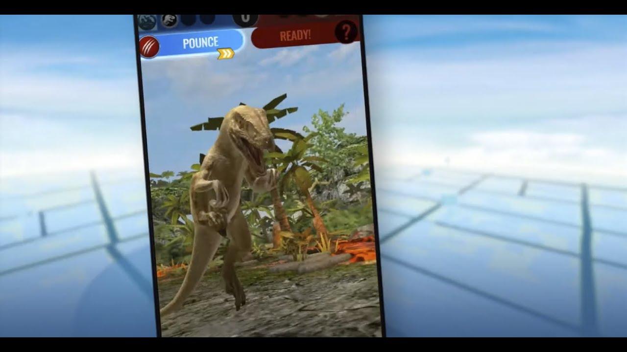 Vídeo de Jurassic World Alive