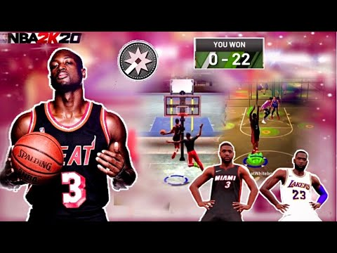 DWAYNE WADE IN PARK IS UNFAIR! | NBA 2K20 DWAYNE WADE FACE CREATION(+GAMEPLAY!)